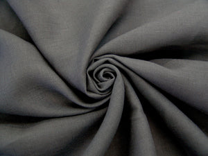 L3 - Linen - luxury weave - charcoal *****