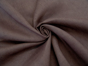 L3 - Linen - luxury weave - chocolate*****