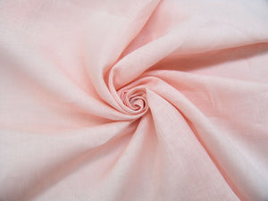 L1 - Linen - hanky weight - peachy pink*****