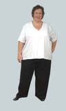 Track Pants - Cotton Spandex Jersey