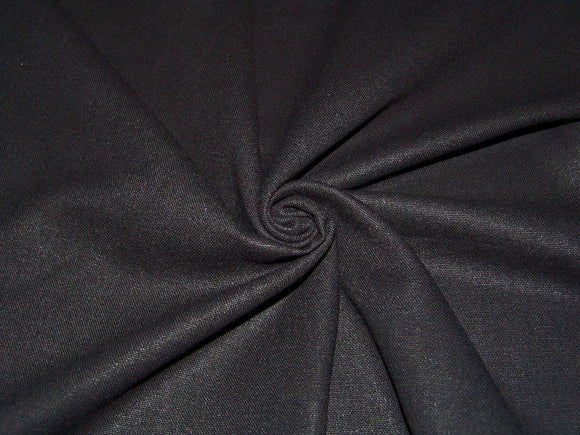 R4 - Rayon Linen Solids - black ***