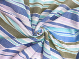 C26.1 - Woven Cotton - varigated stripe **