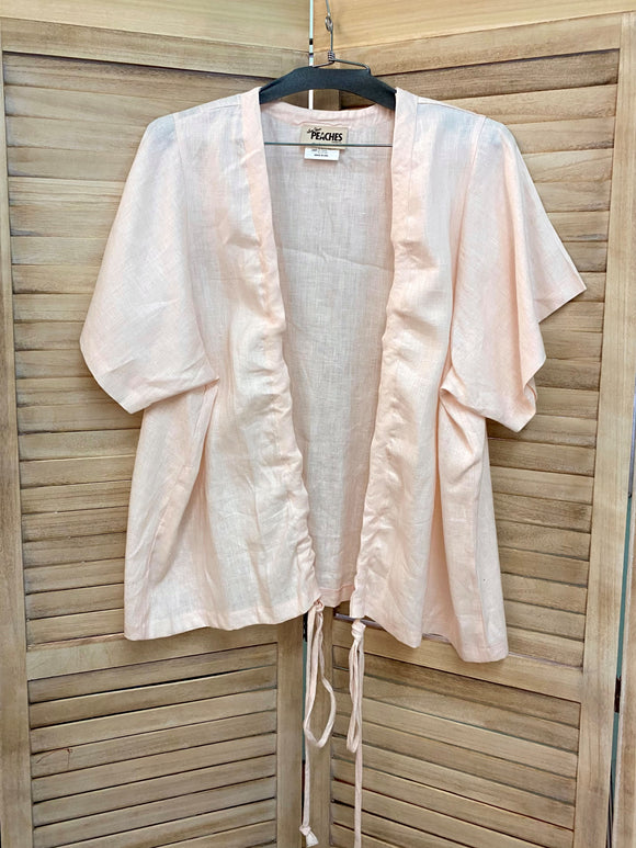 Long Tova Jacket - Small (1x/2x) - Medium Linen *****