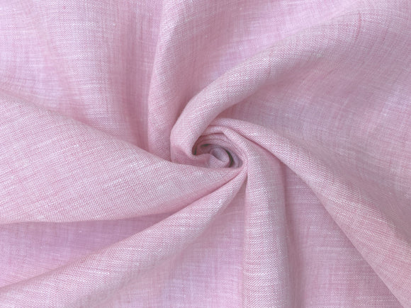 L4 - Linen - cross dye, hanky weight - pink/white *****