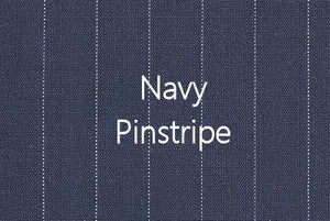P4.4 - Stretch Woven Pinstripe Suiting - navy **