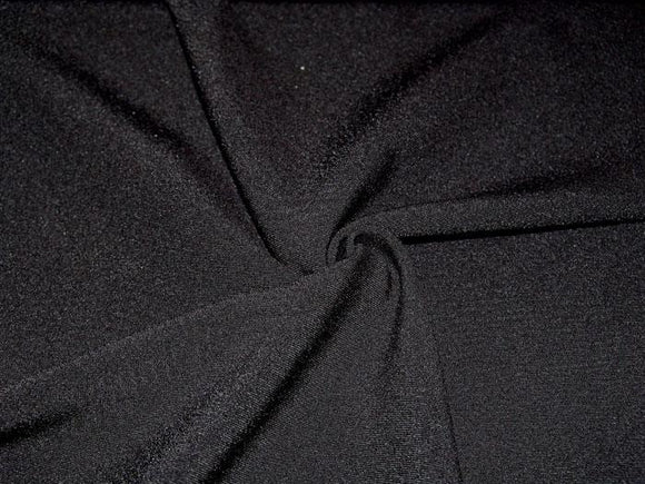 P4.3 - Stretch Woven Metro Gabardine Suiting - black **