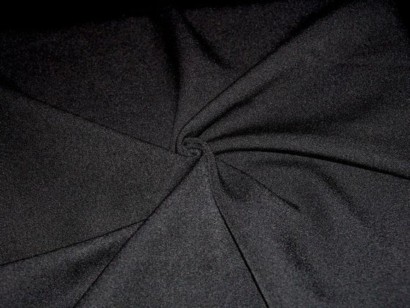 P4.7 - Stretch Poly Gabardine - black **