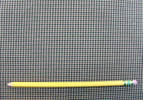 C22 - Stretch Woven Cotton Suiting - tattersal check **