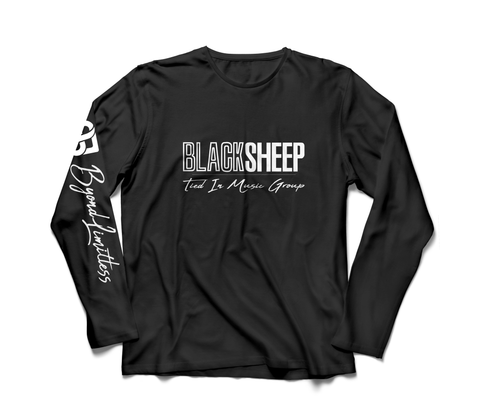 "BLACK ""TIMG - BLACKSHEEP"" LONG SLEEVE"