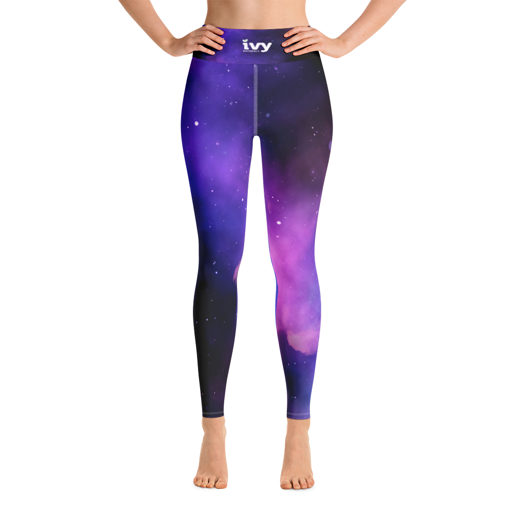 Ivy Naturals® Space Galaxy Yoga Leggings
