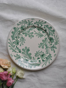 Lot de 2 assiettes Verde Salvia plates (26 cm)