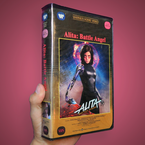 Alita Battle Angel VHS