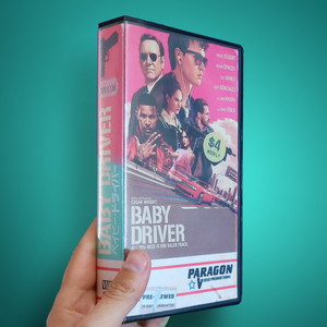 Baby Driver VHS