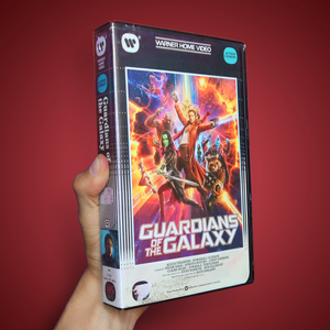 Guardians of the Galaxy VHS