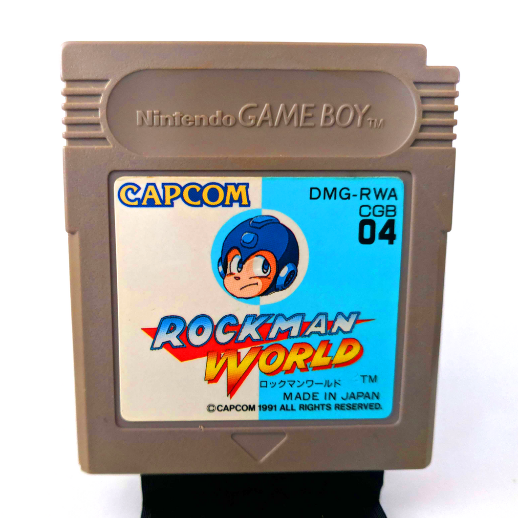 Nintendo Game Boy ROCKMAN WORLD aka Mega Man Japan