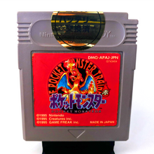 Load image into Gallery viewer, Nintendo Game Boy Pokemon Red Japan NEW BATTERY Pocket Monsters