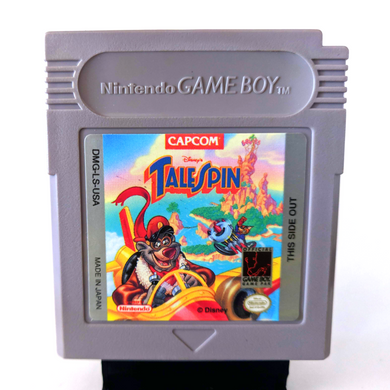 Tale Spin CAPCOM Gameboy with Case