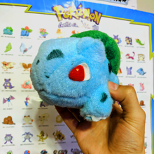 Load image into Gallery viewer, Pokemon Bulbasaur Fuzzy Plush  Tomy UFO doll