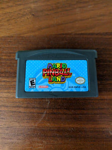 Mario Pinball Land Gameboy Advance