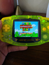 Load image into Gallery viewer, Mario Pinball Land Gameboy Advance