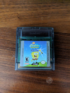 SpongeBob SquarePants: Legend of the Lost Spatula Gameboy Color with Case