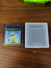 Load image into Gallery viewer, SpongeBob SquarePants: Legend of the Lost Spatula Gameboy Color with Case