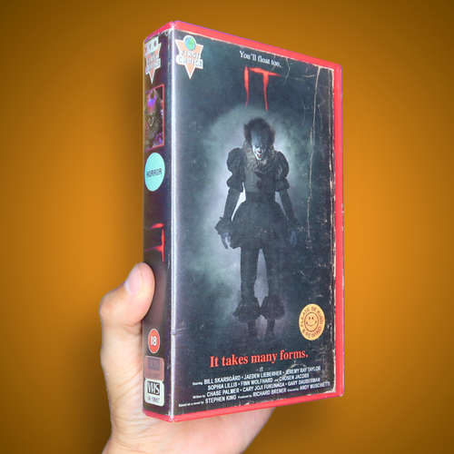 IT Movie VHS