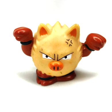 Pokemon Primape toy Bandai Finger Puppet