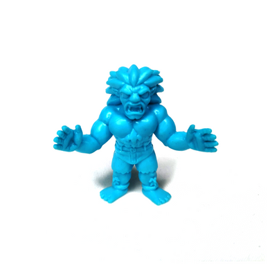 Super7 Street Fighter II M.u.s.c.l.e. Full Blue Blanka Keshi FIgure