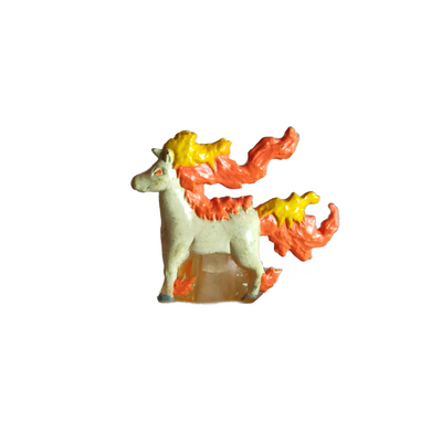 RARE Pokemon Ponyta Mini TOMY Figure 1