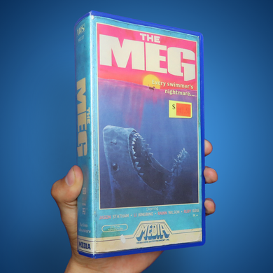 The Meg Movie VHS