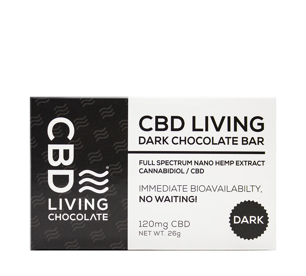 Cbd Living Chocolate - Dark Chocolate - Edibles