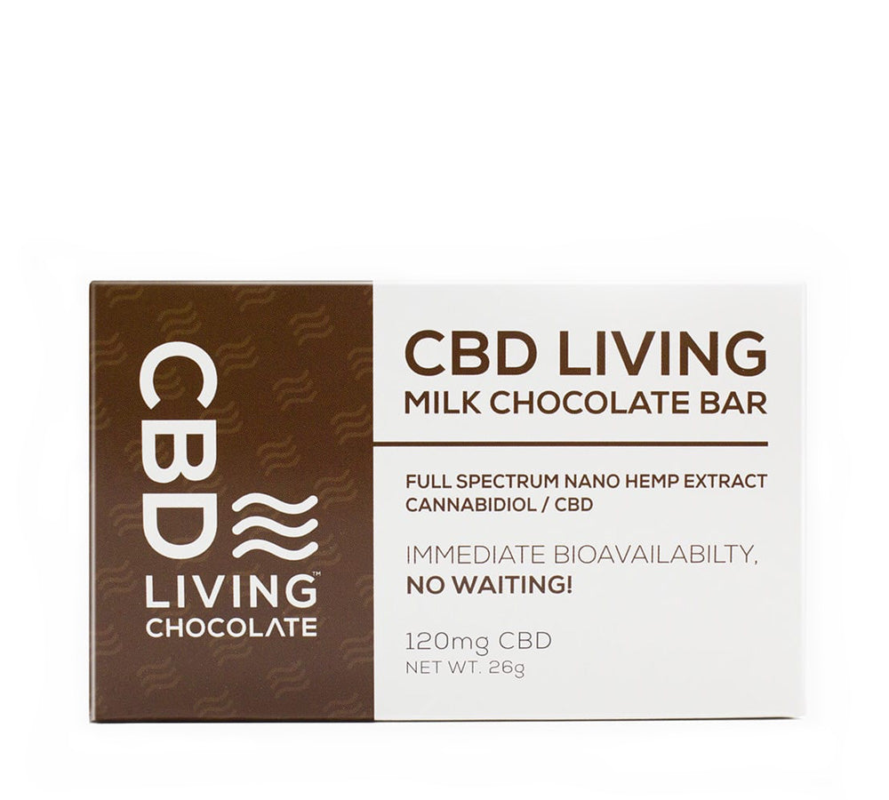 Cbd Living Chocolate - Milk Chocolate - Edibles