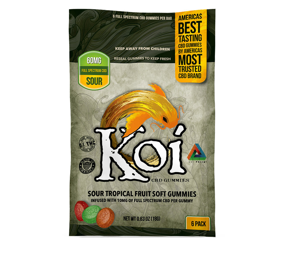 Koi 60Mg Gummies - Sour - Full Spectrum