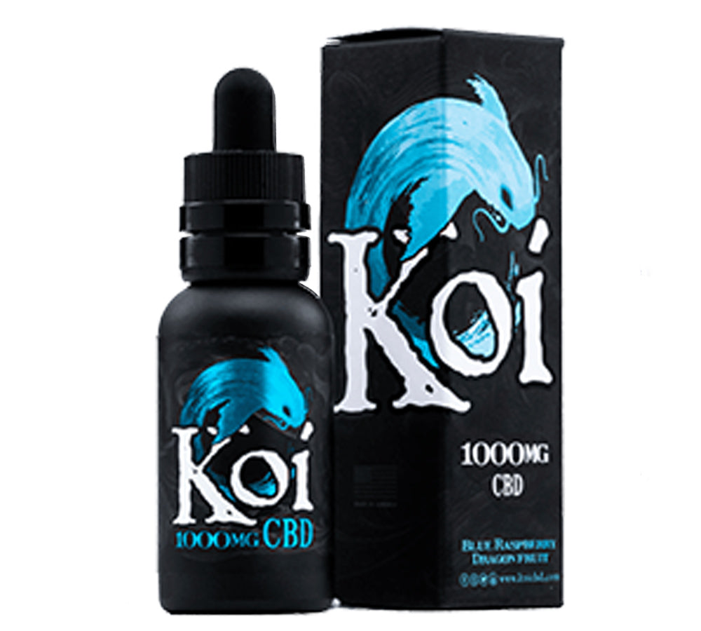 Koi CBD 1000Mg Vape Juice - Blue Raspberrry - Vape Additive