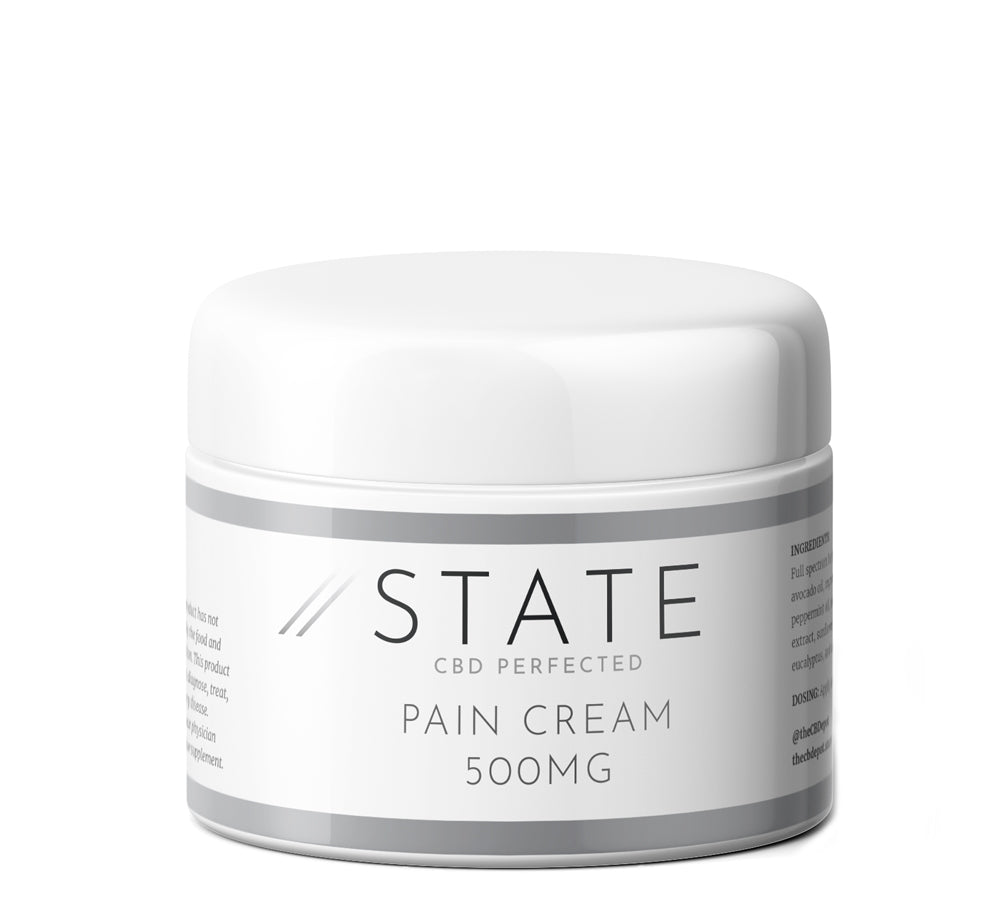 State CBD Topical Pain Cream - 500mg