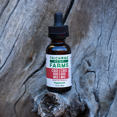 Trichome Farms 600mg CBG: 600mg CBD Tincture
