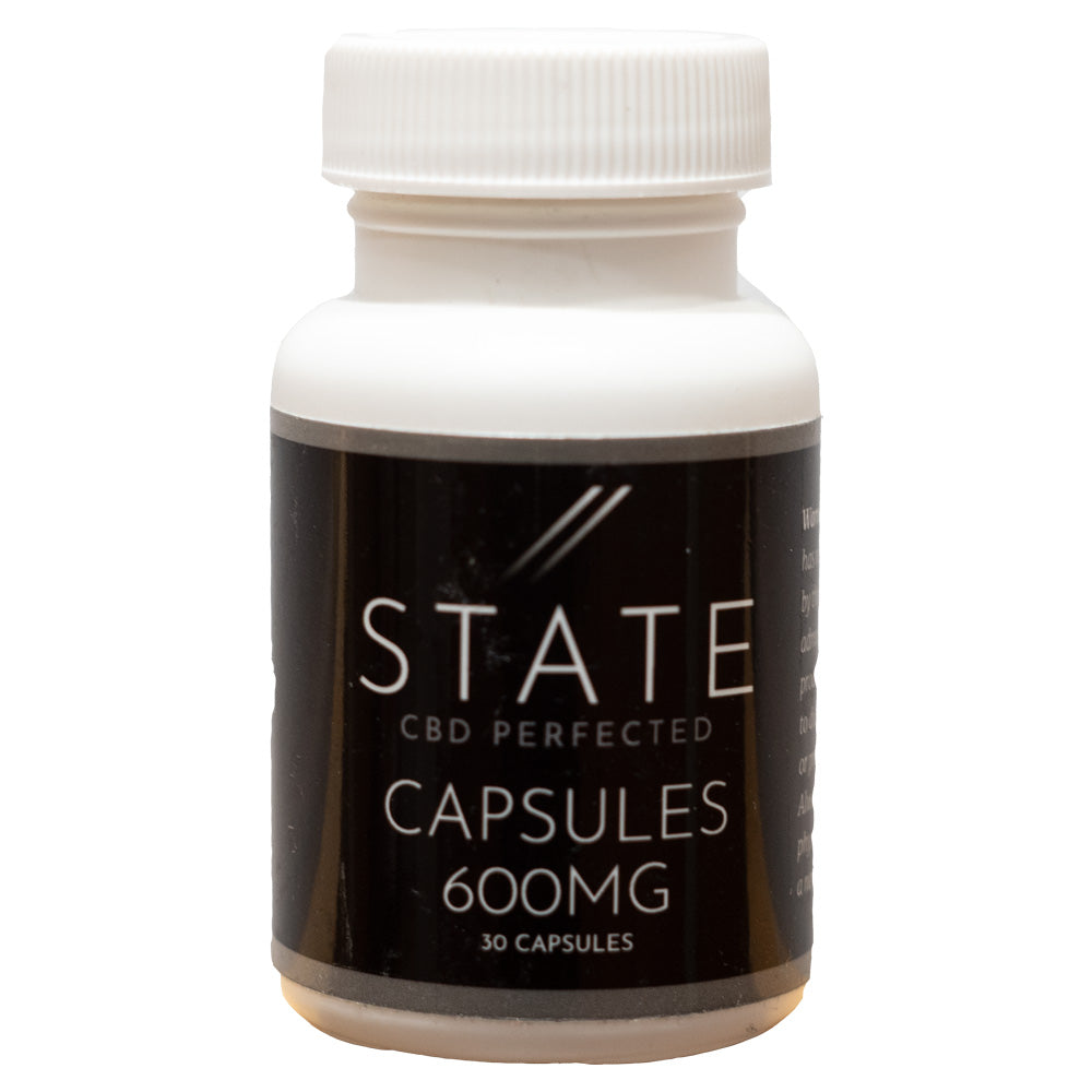 State CBD Full Spectrum 20mg Capsules