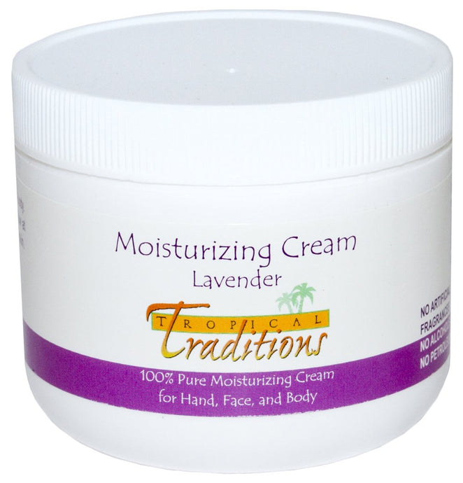Tropical Traditions Moisturizing Cream Lavender