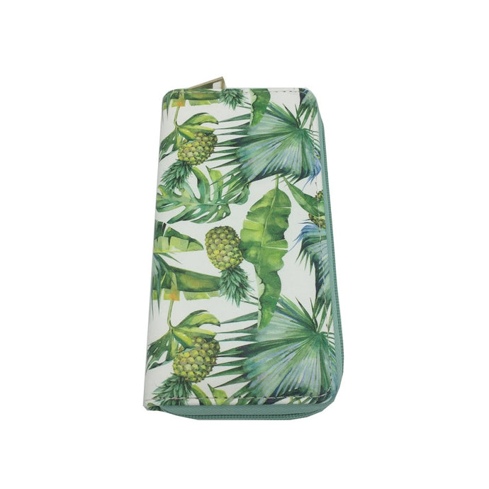 Palm Tree Print Wallet
