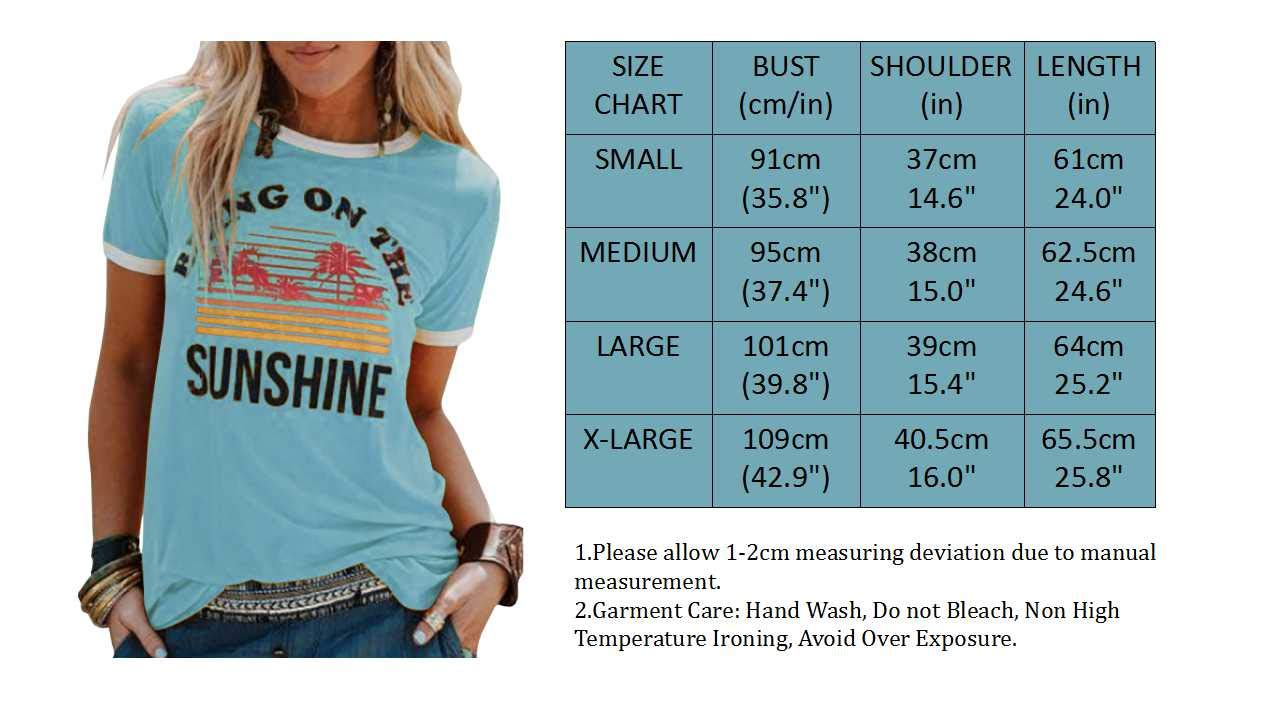 Bring On The Sunshine Graphic T- Shirt