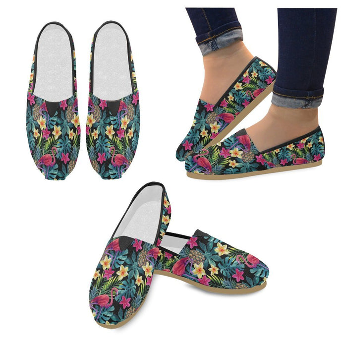Tropical Watercolor Loafers
