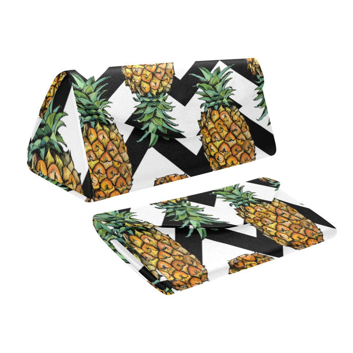 Pineapple with Chevron Sunglass Case