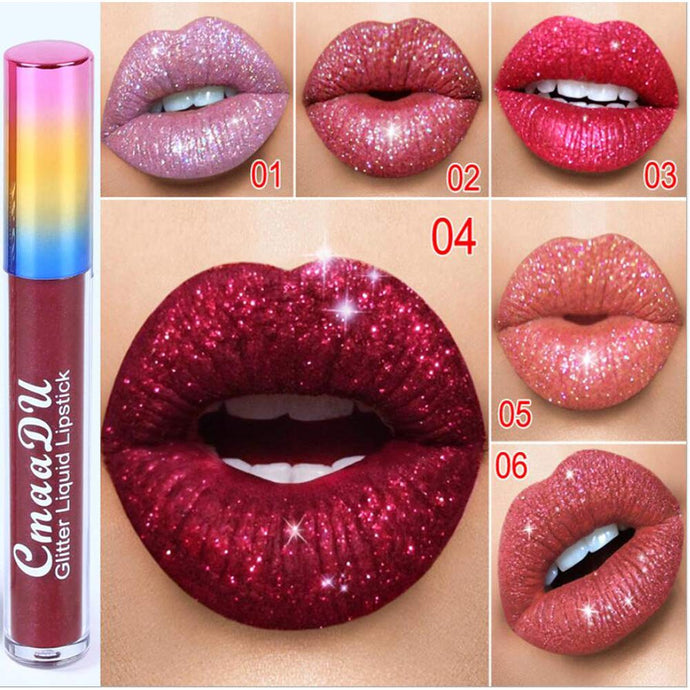 Shimmer Lip Gloss Set Moisturizing Liquid Lipstick