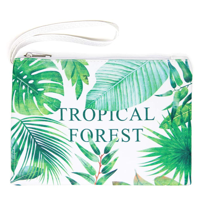 Tropical Forest Makeup Pouch