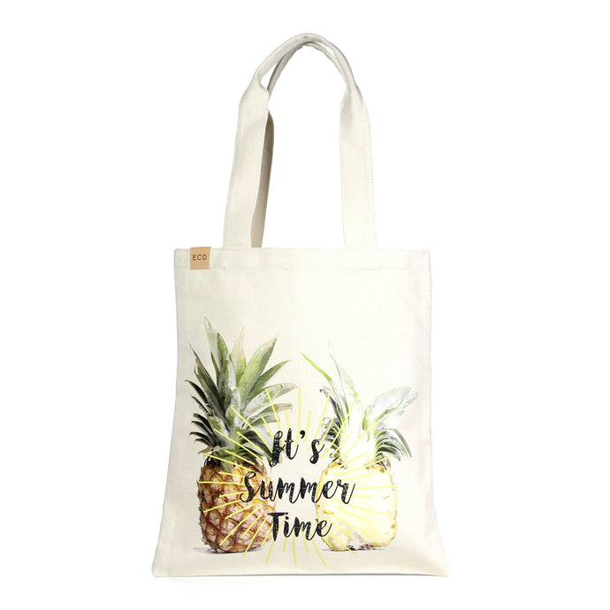Pineapple Canvas Beach Shoulder Tote Bag