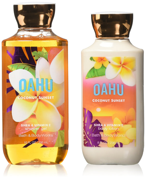 Aloha Signature Collection Body Lotion and Shower Gel