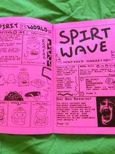 SPIRIT WORLD zine - by Chris Romero