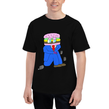 Load image into Gallery viewer, hamburger salaryman shirt