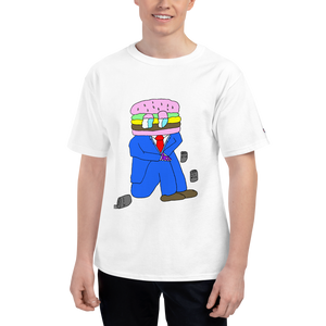 hamburger salaryman shirt